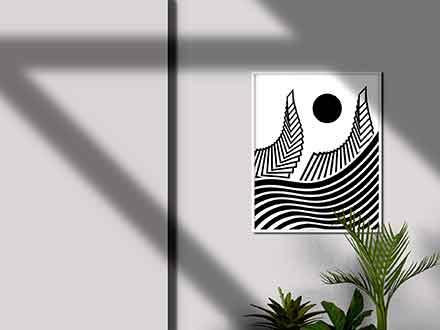 Minimalistic Poster Mockup