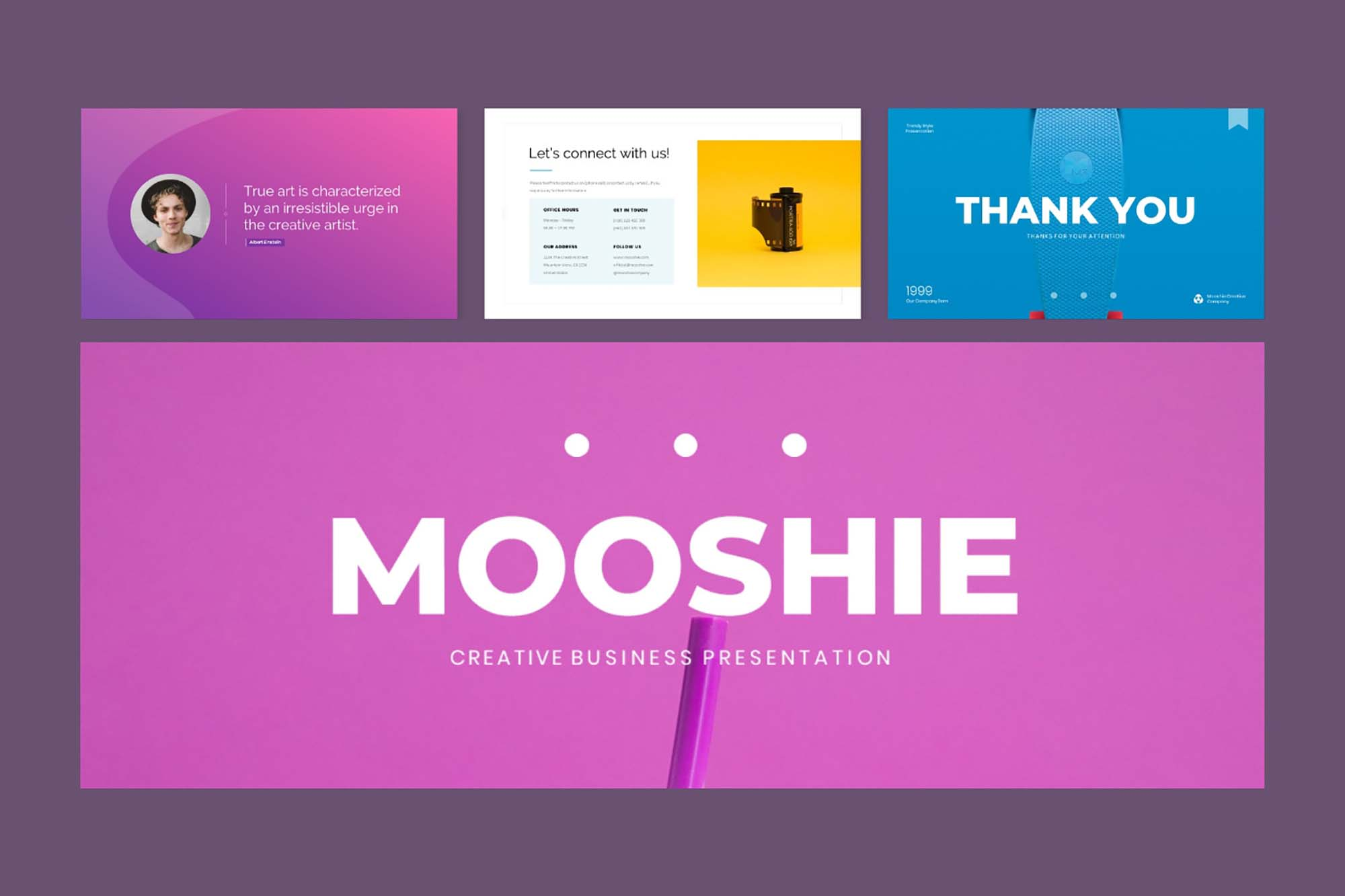 Mooshie Pop Art & Creative Presentation 1