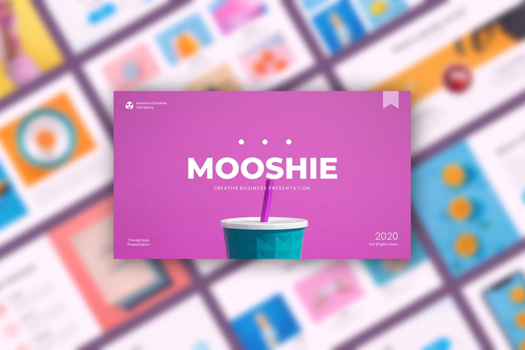 Mooshie Pop Art & Creative Presentation