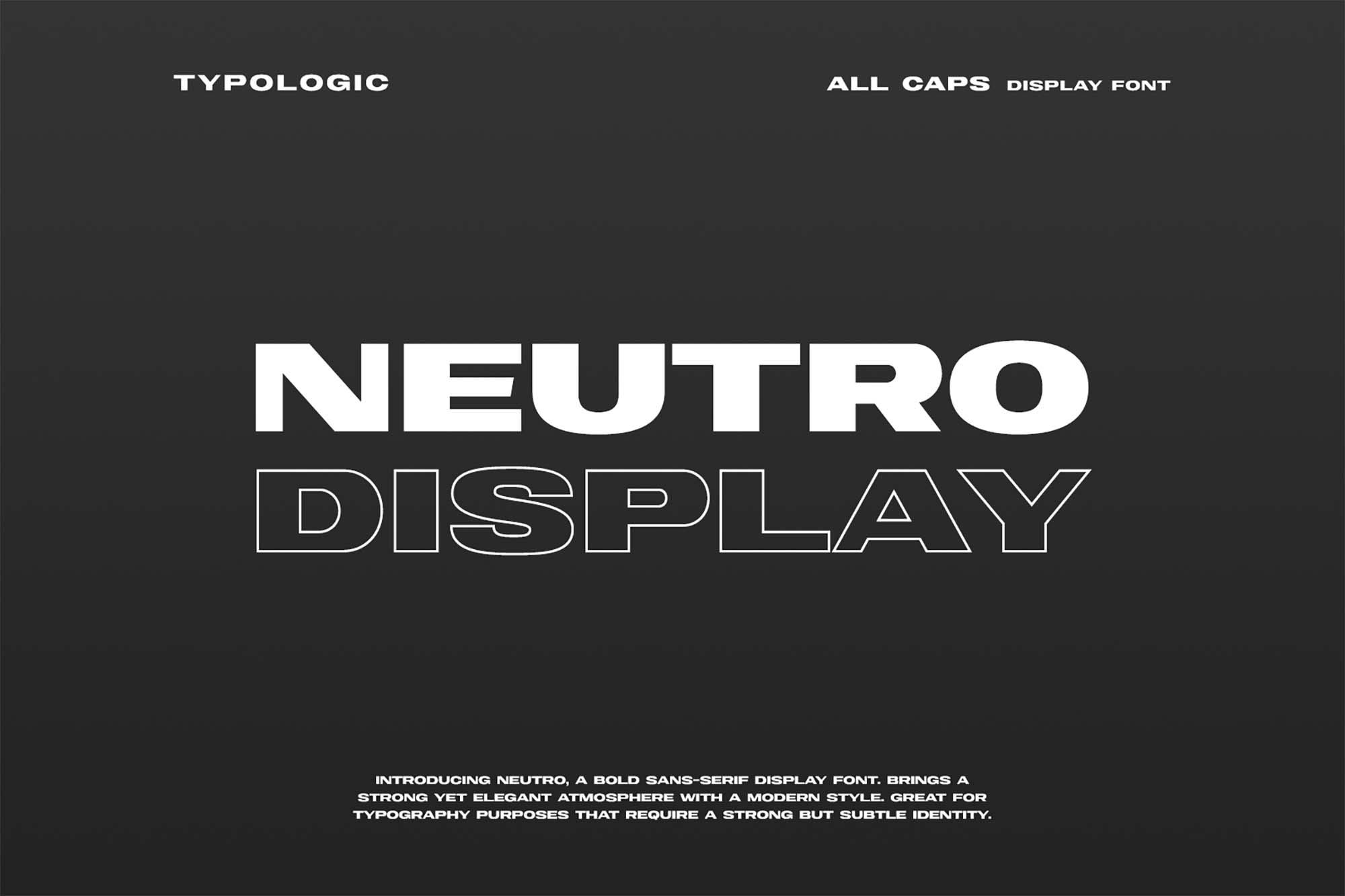 Neutro Extended Font