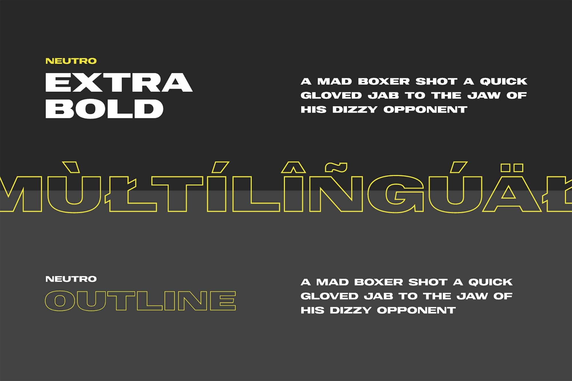 Neutro Extended Font 6