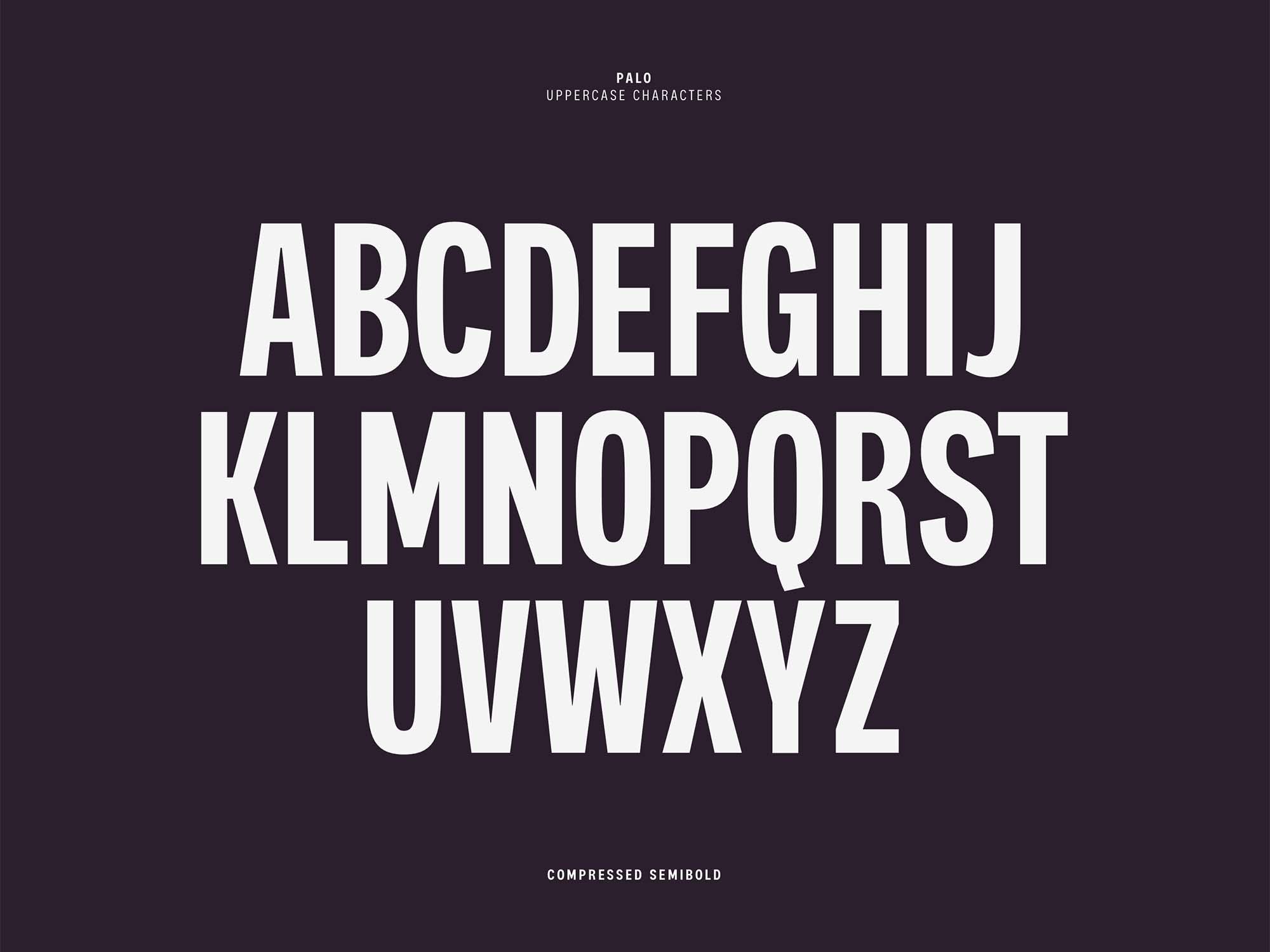 Palo Sans Font 11