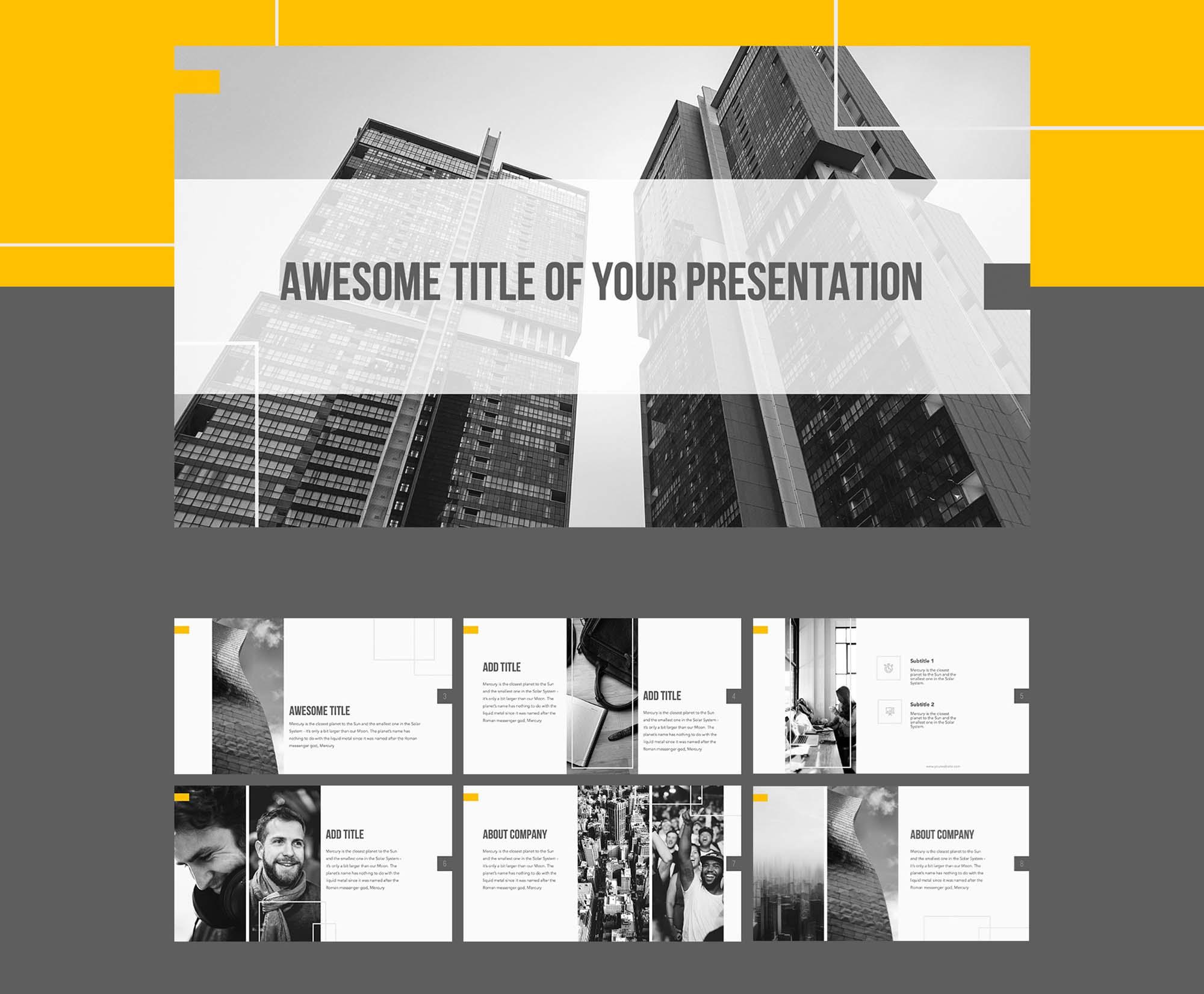 PowerPoint Presentation Template 3