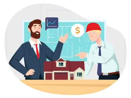 Real Estate Development Vector Illustration