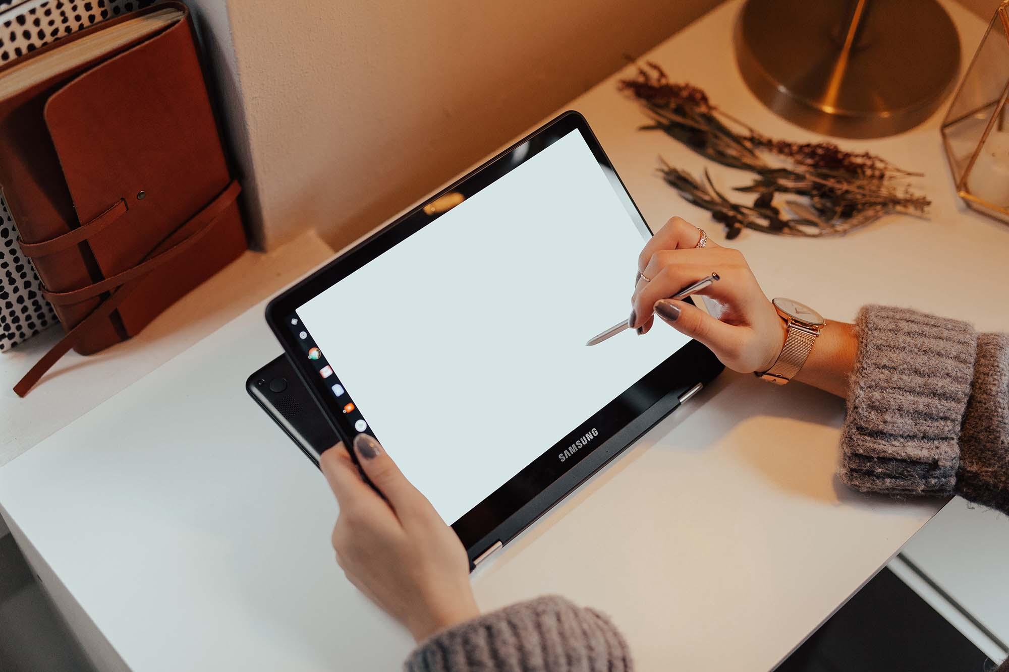 Samsung Tablet Mockup 2