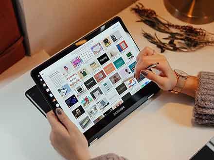 Samsung Tablet Mockup