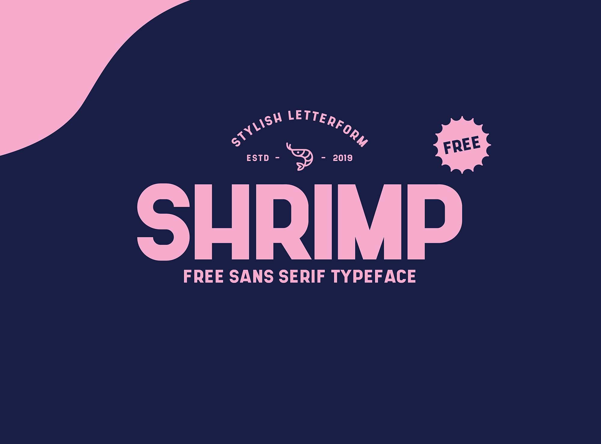 Shrimp Sans Serif Typeface