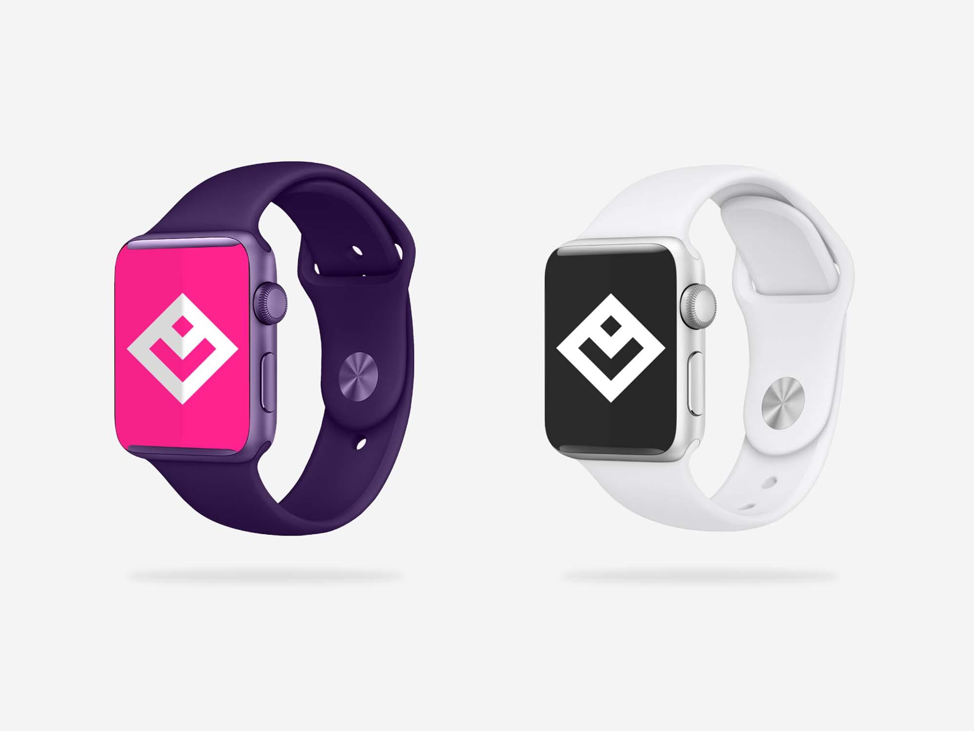 Smart Watch Apparel Mockup
