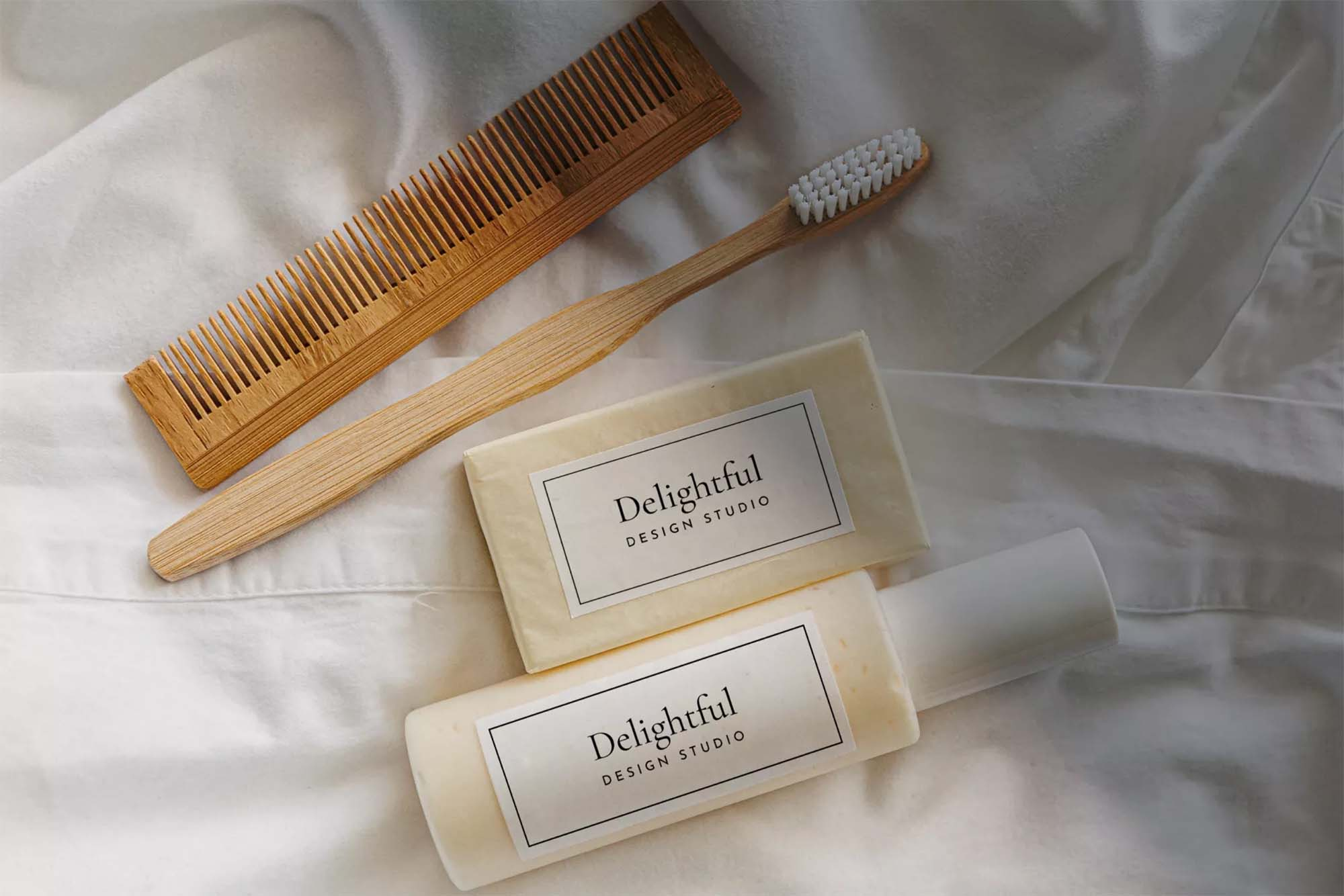 Soap & Shampoo Mockup