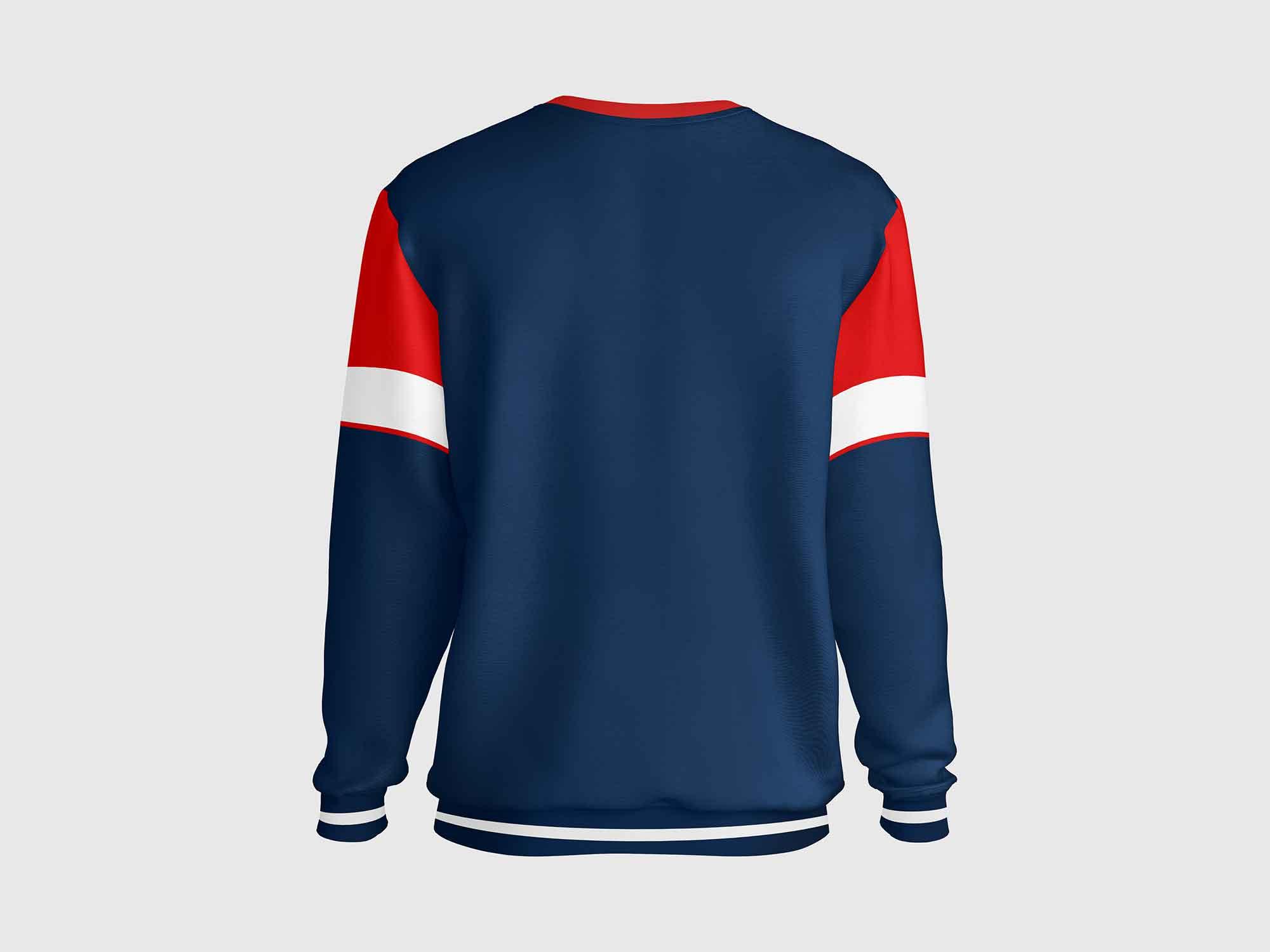Sweatshirt Mockup Back