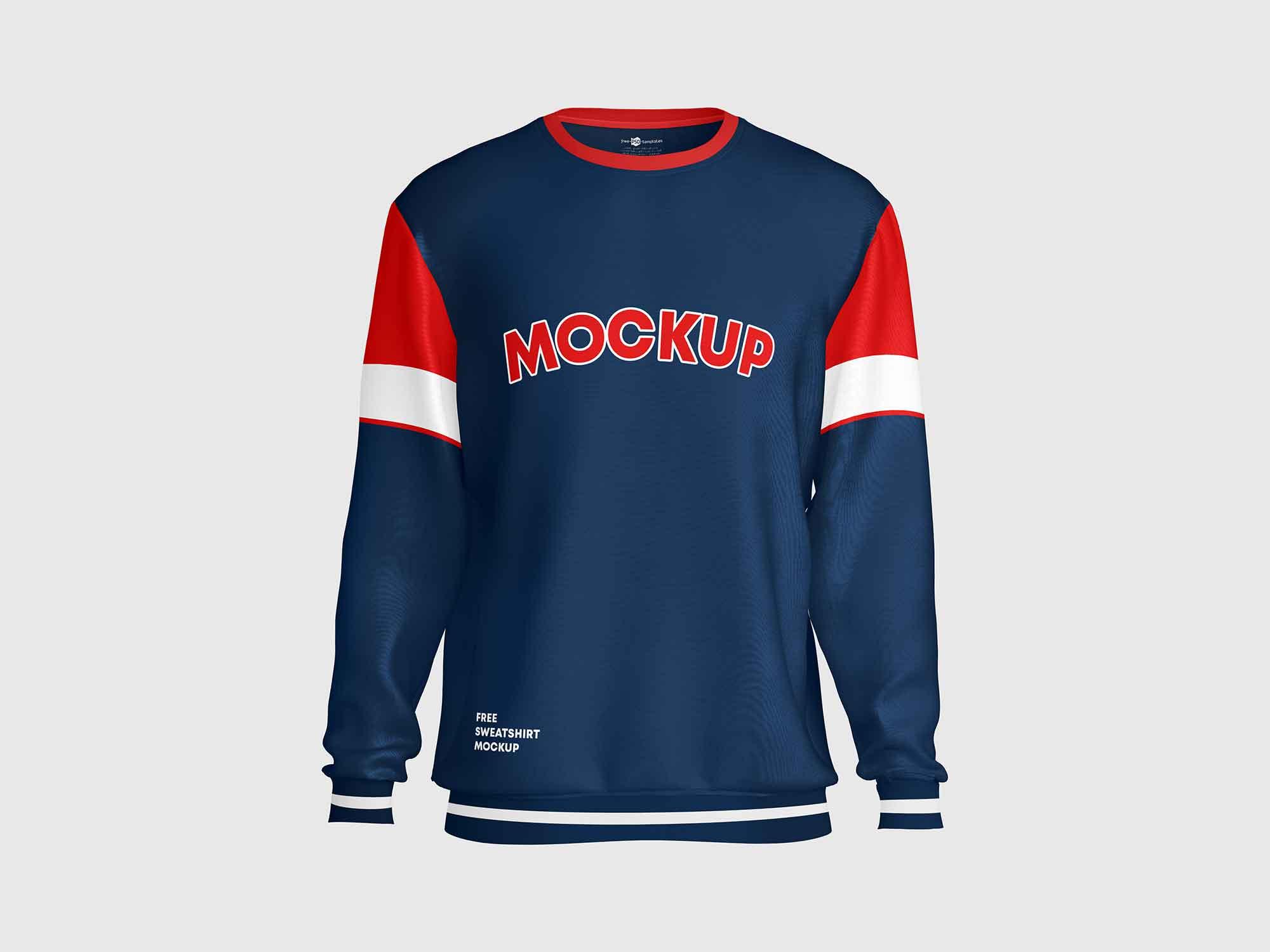 Sweatshirt Mockup Front