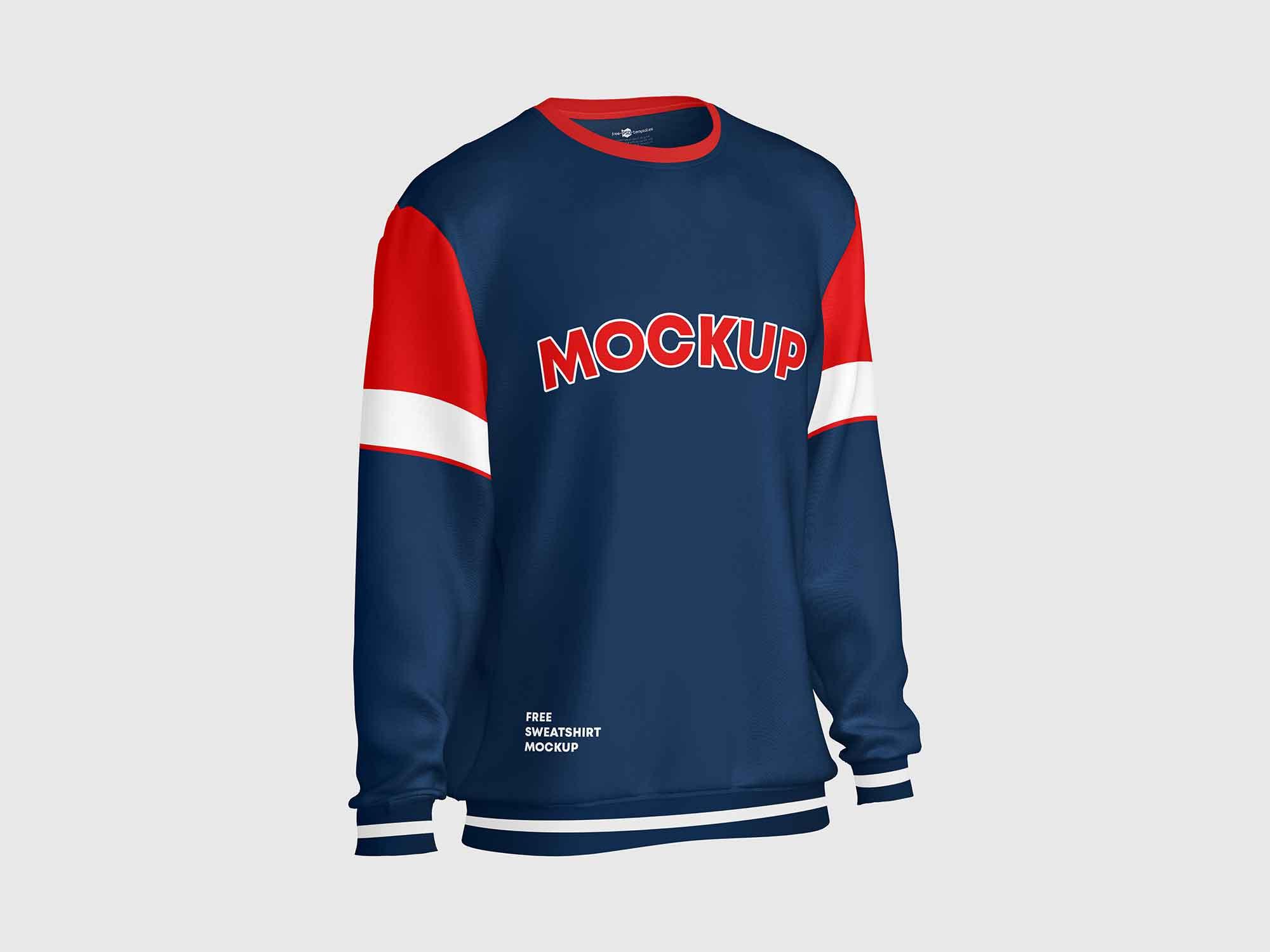 Sweatshirt Mockup Side