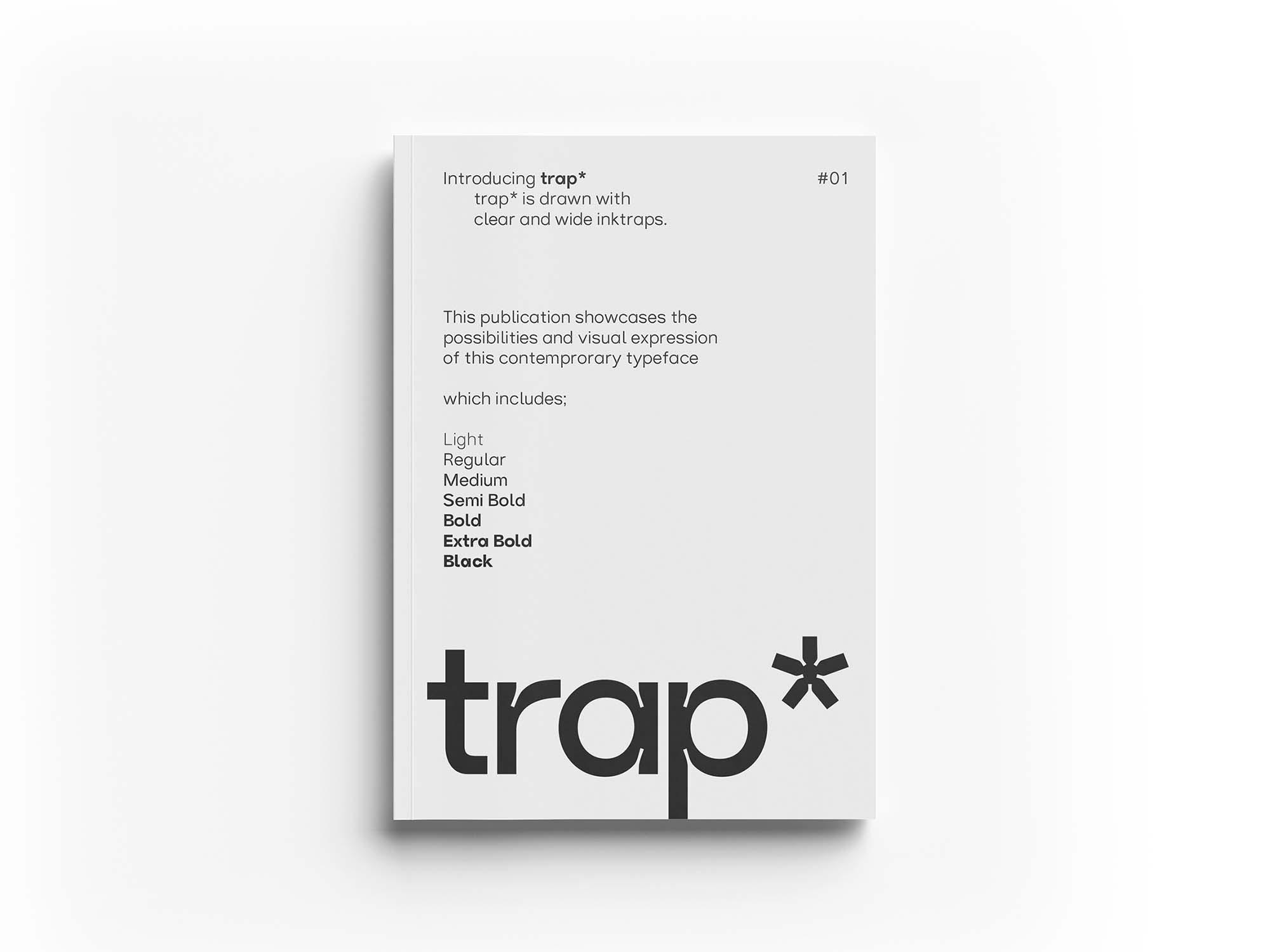 Trap Sans Serif Typeface 10