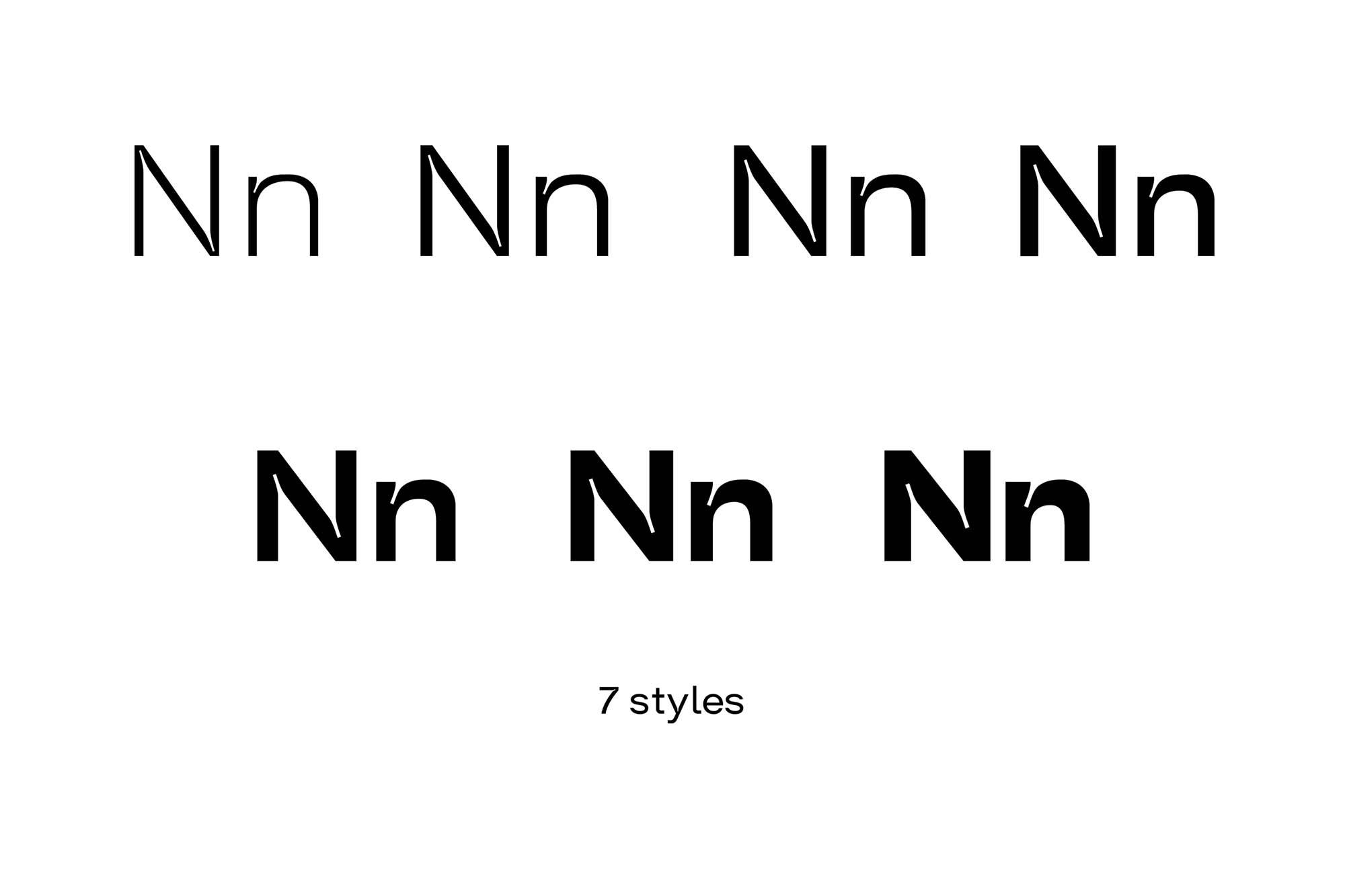 Trap Sans Serif Typeface 2