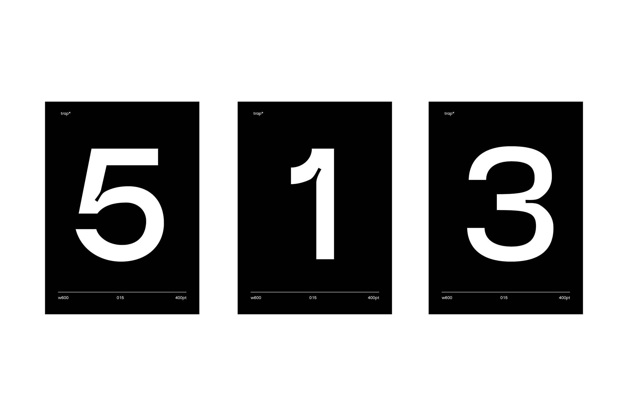 Trap Sans Serif Typeface 5