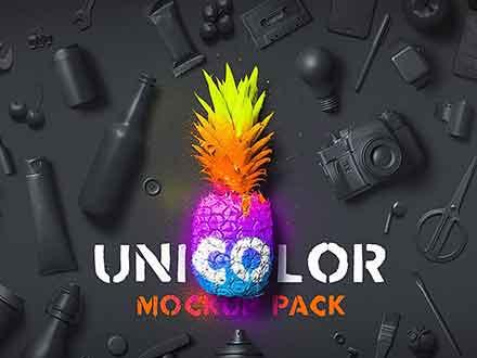 Unicolor Mockups