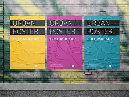 Urban Posters Mockup