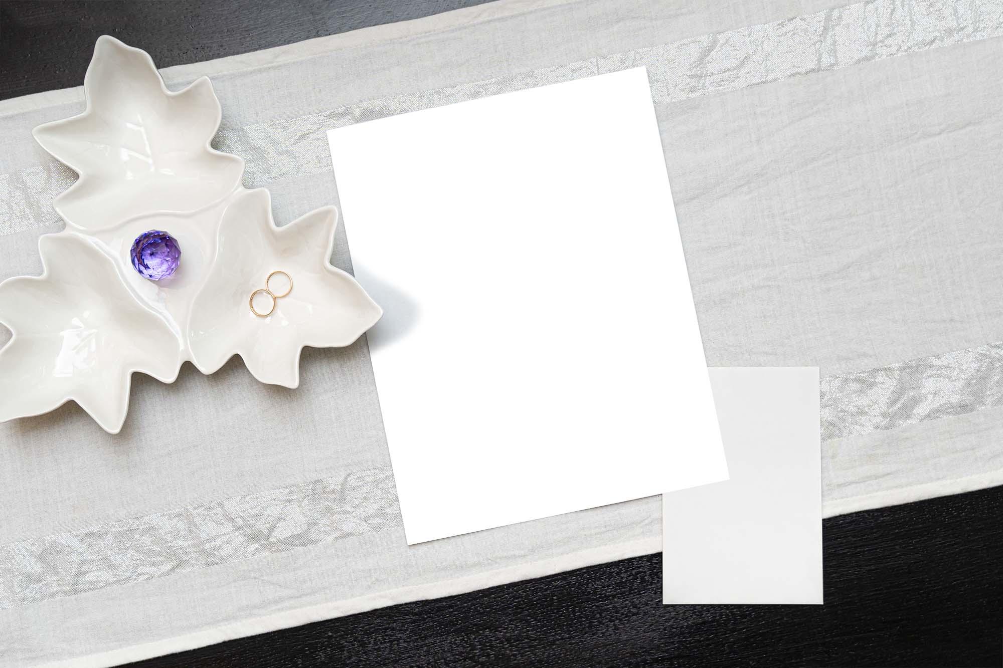 Wedding Card Mockup 2