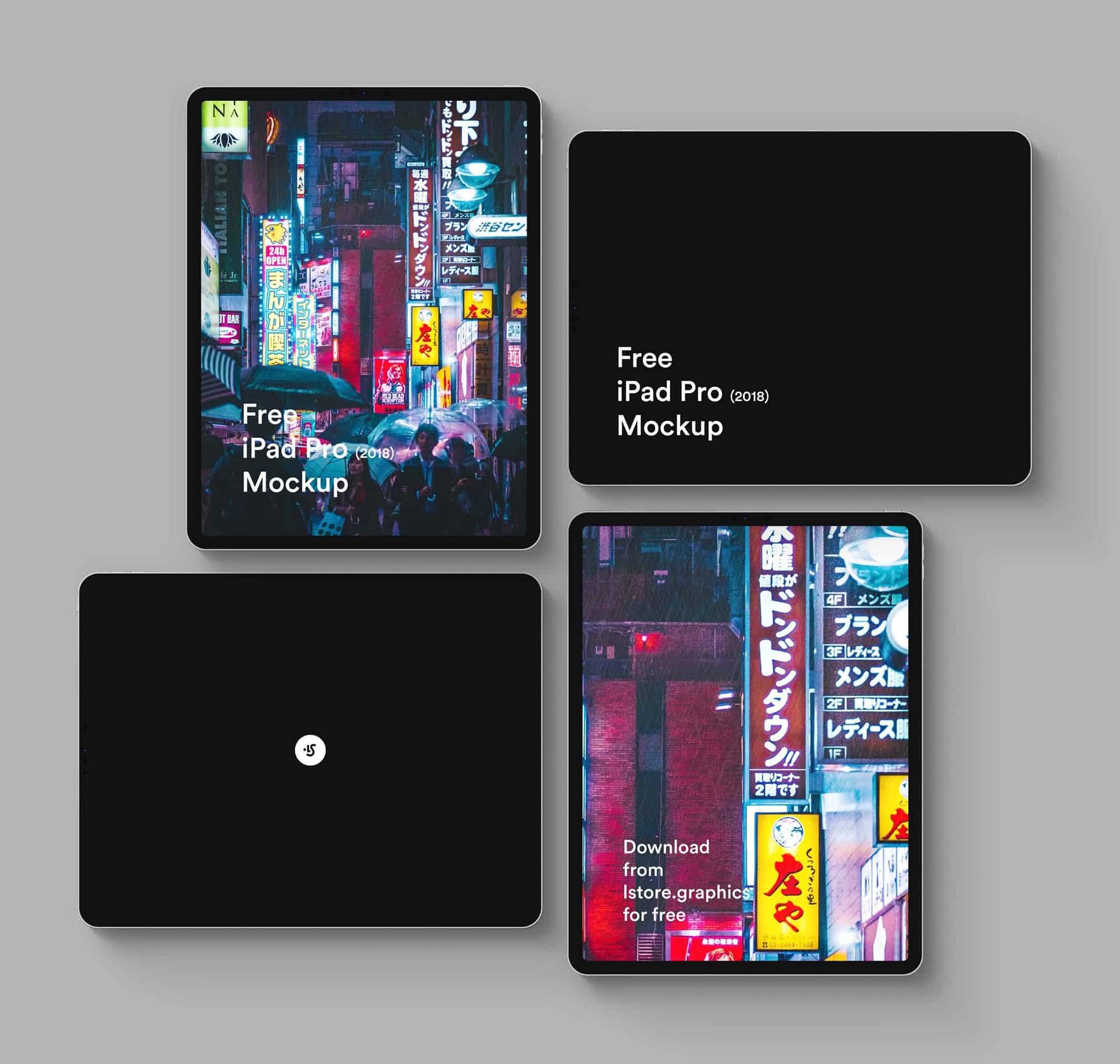 iPad Pro 2018 Mockup 2