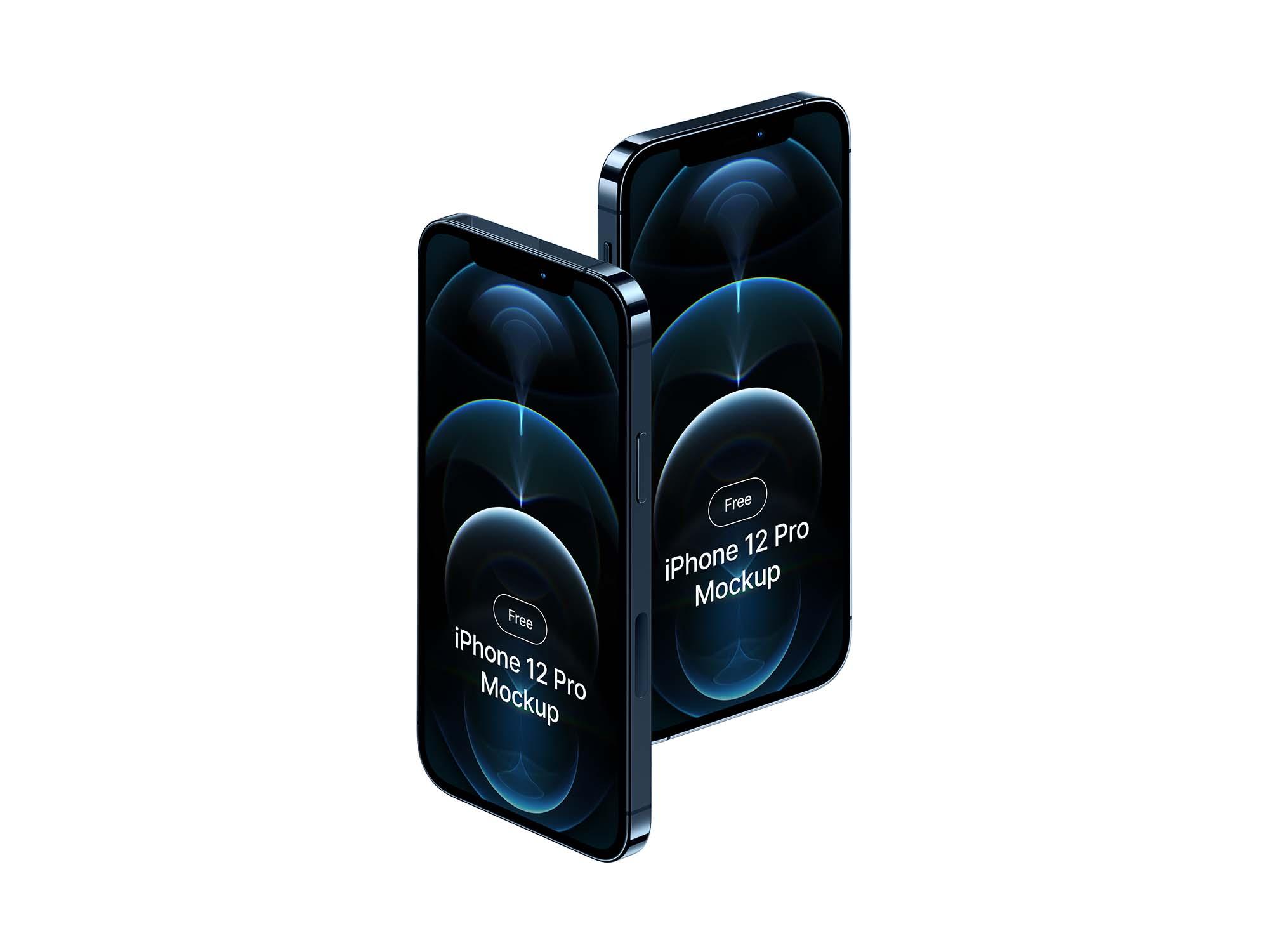 iPhone 12 Pro Mockup 3