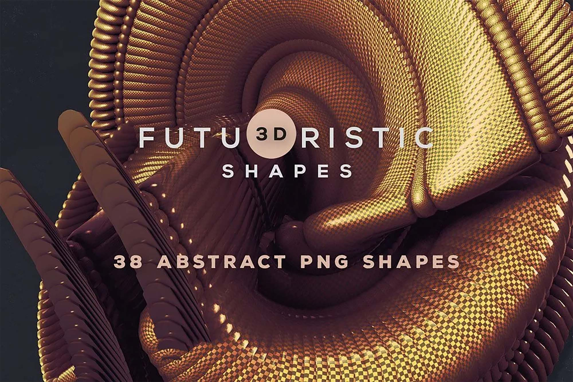 3D Abstract Shapes 1