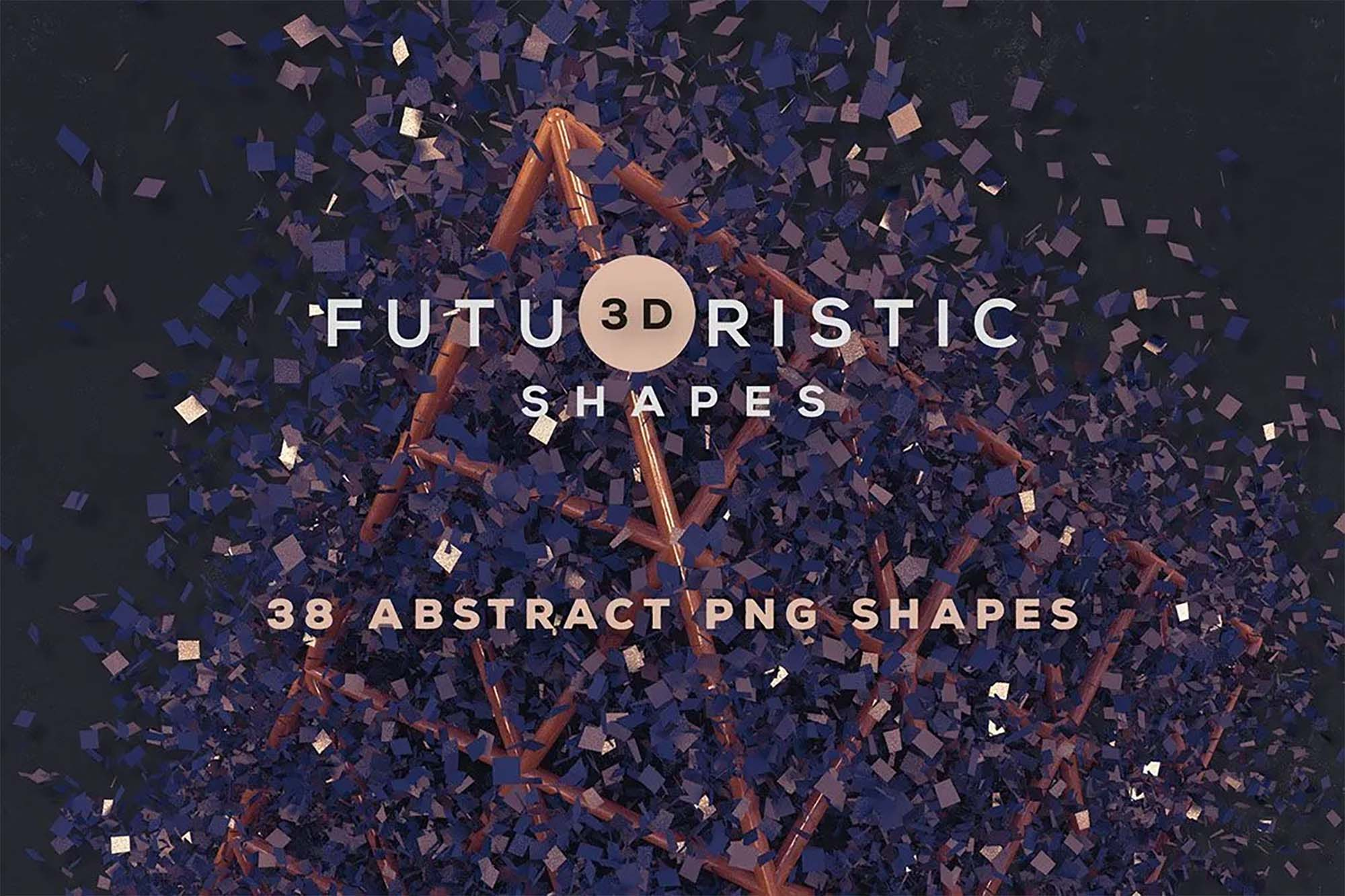 3D Abstract Shapes 2