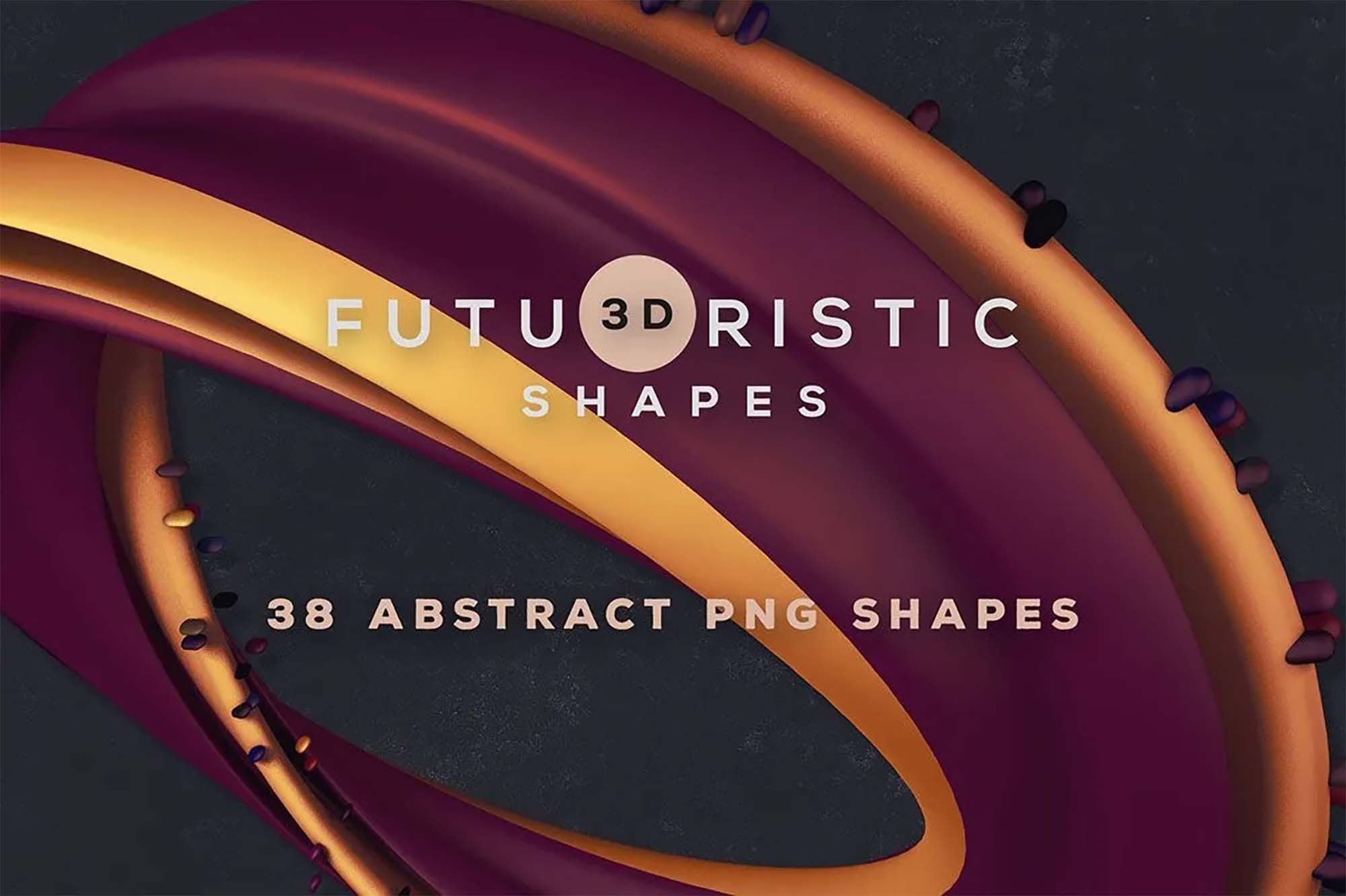 3D Abstract Shapes 3