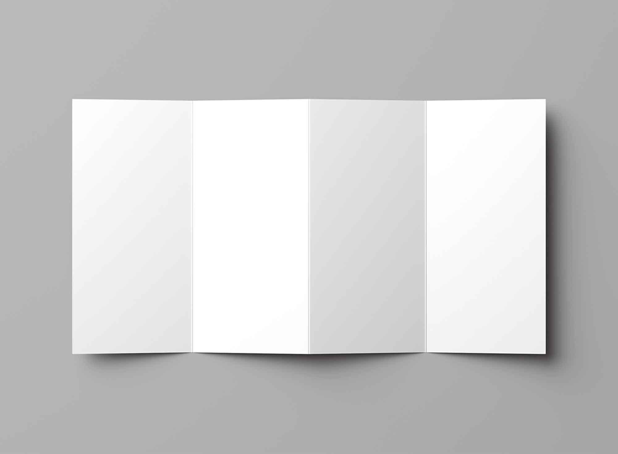 4-Fold Brochure Mockup 2