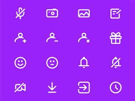 Chat and Messenger Icons