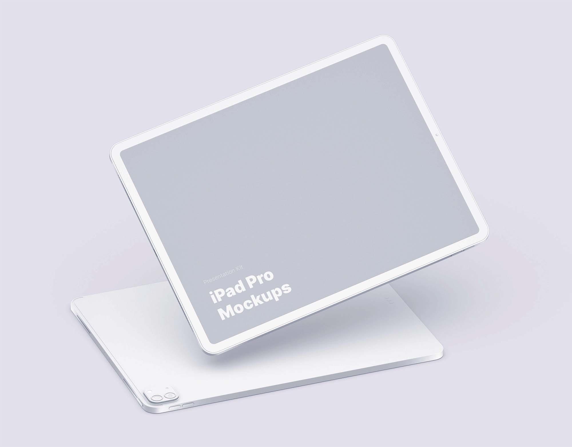Clay iPad Pro Mockup 1