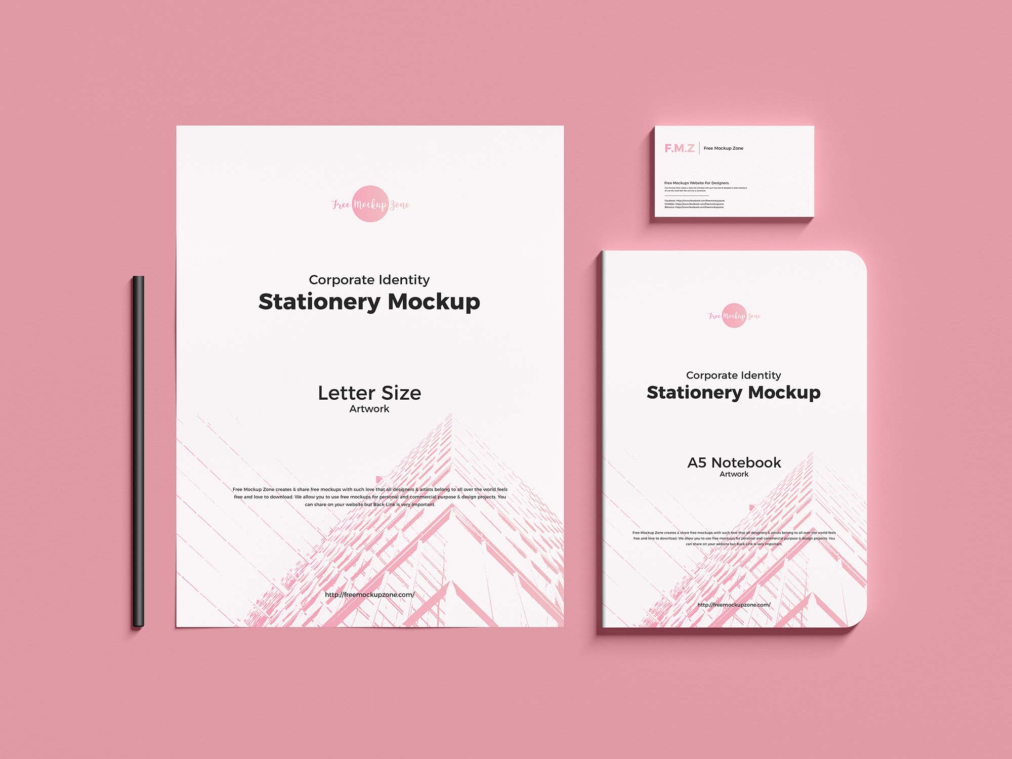 Corporate Identity Stationery Mockup