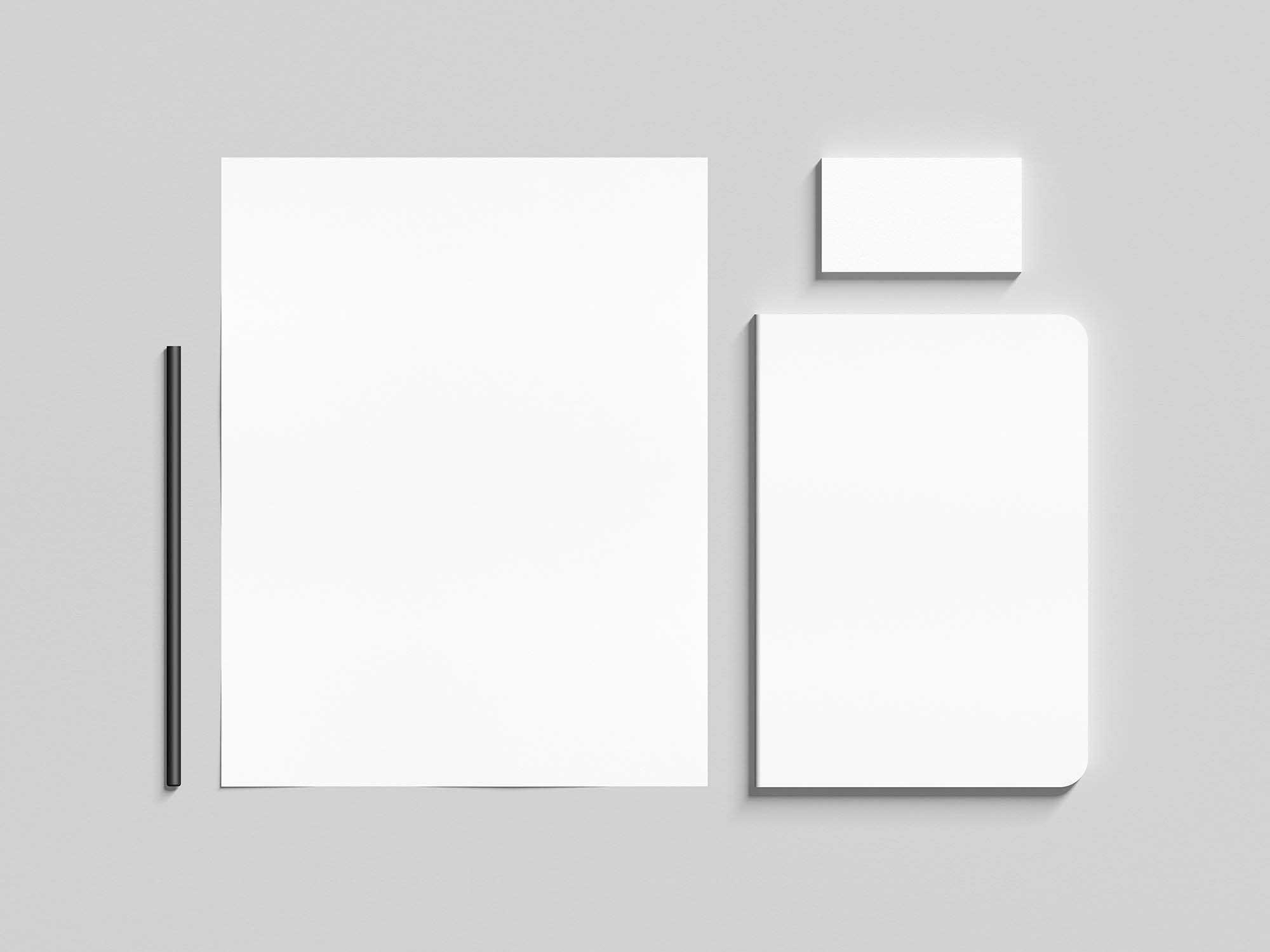 Corporate Identity Stationery Mockup 2
