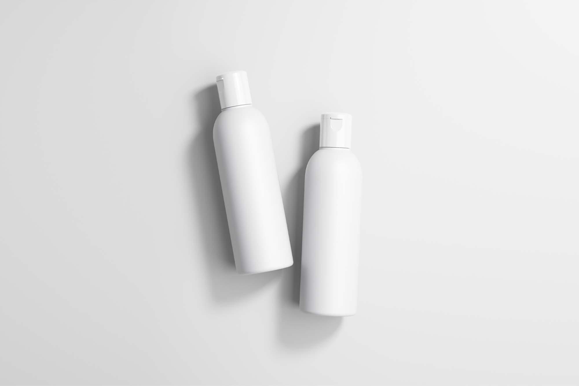 Cosmetic Bottles Mockup 2