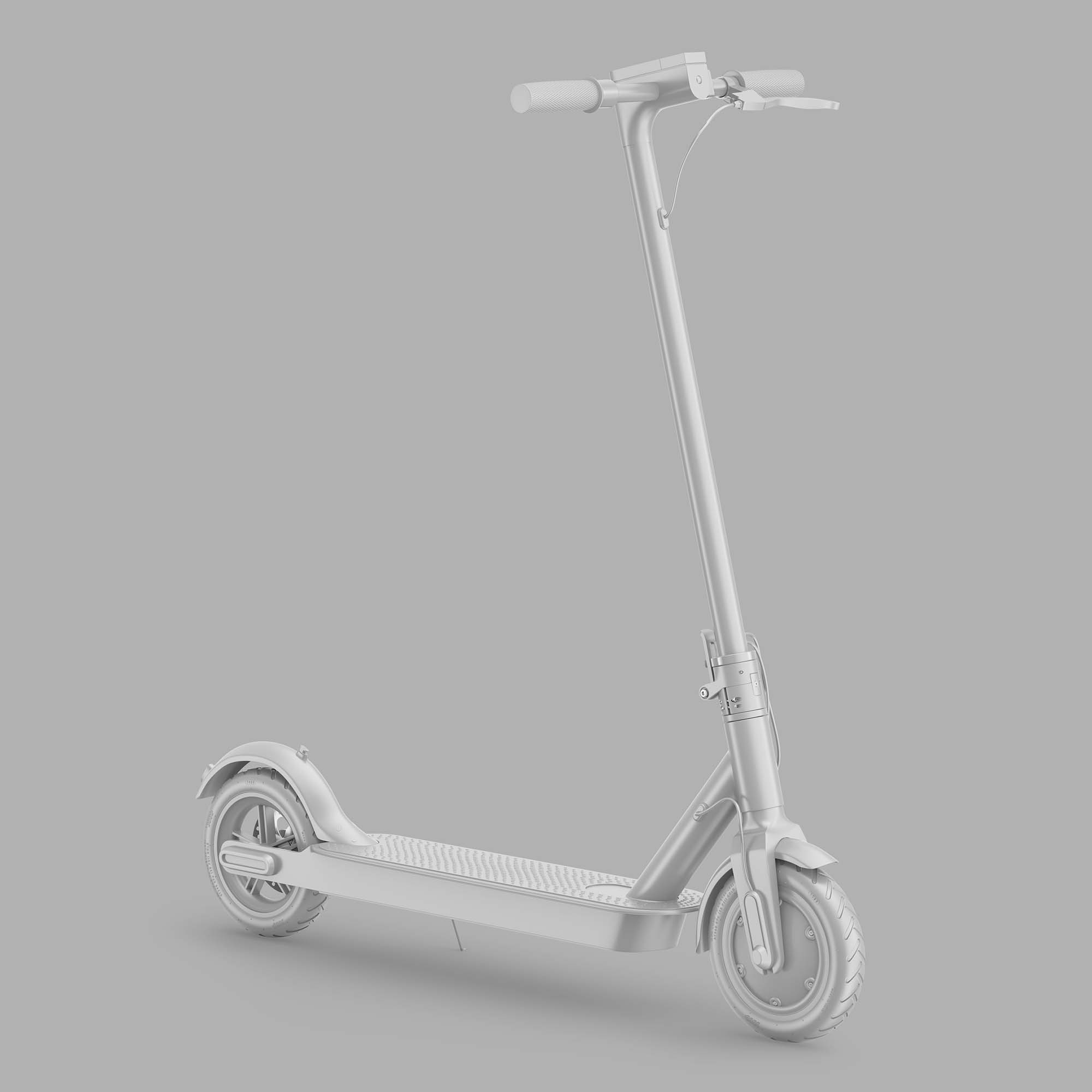Electric Scooter Mockup 2