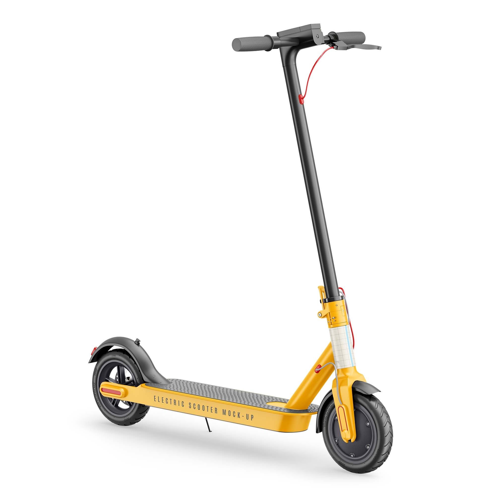 Electric Scooter Mockup