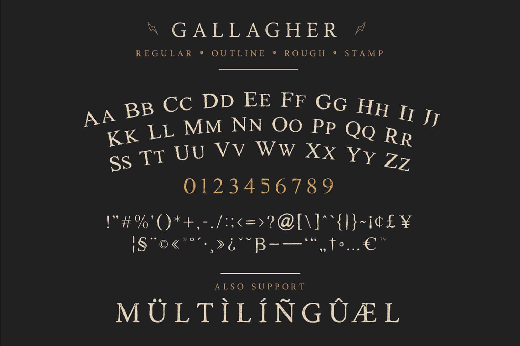 Gallagher Serif Font 2