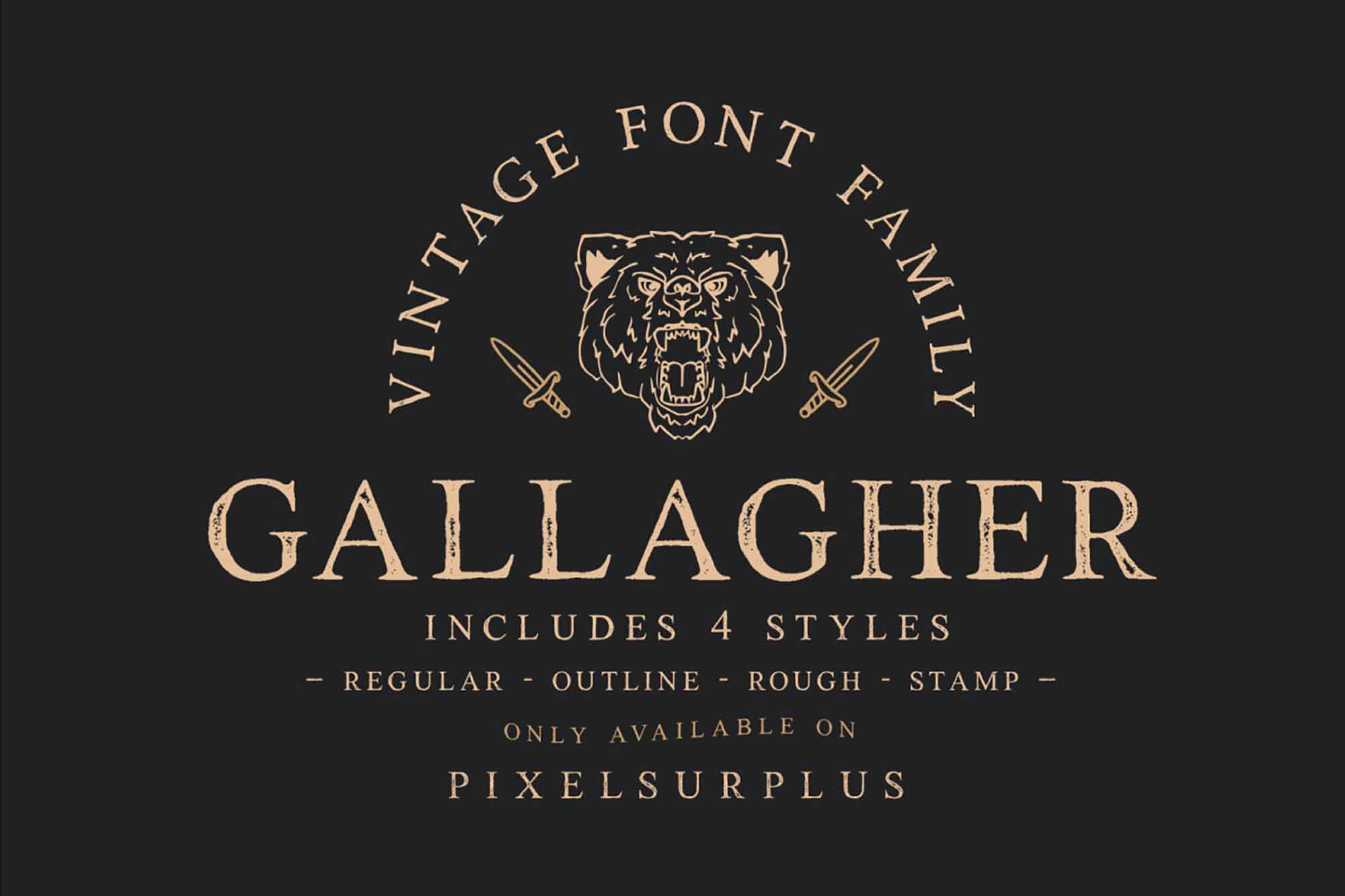 Gallagher Serif Font