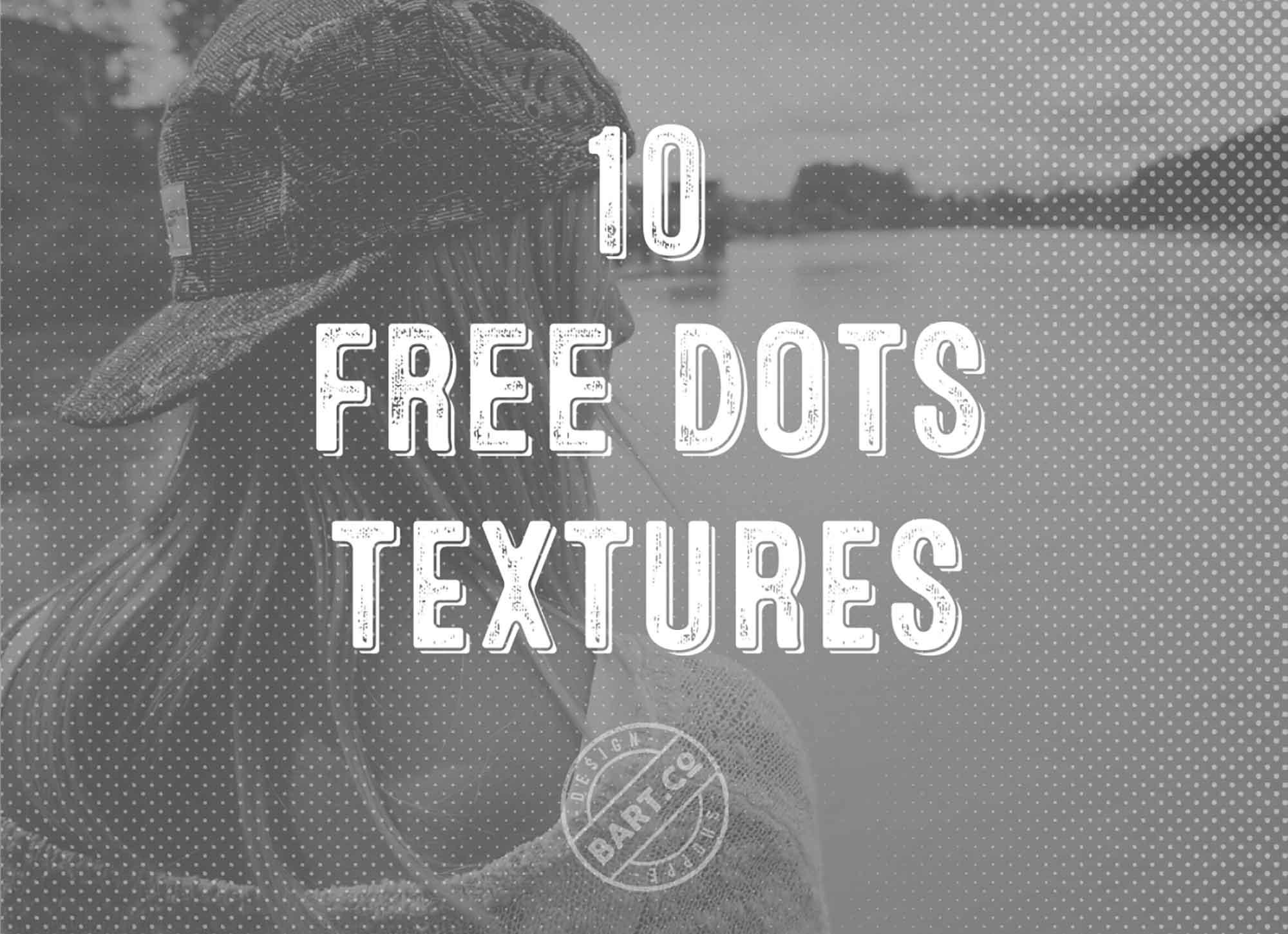 Halftone Dot Textures