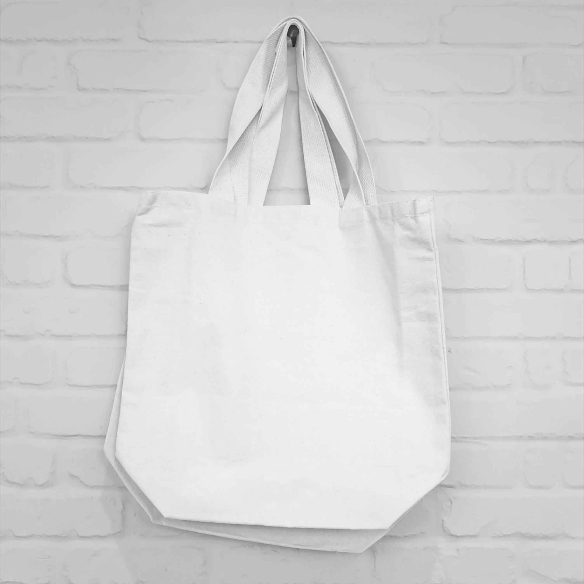 Hanging Canvas Bag Mockup 2