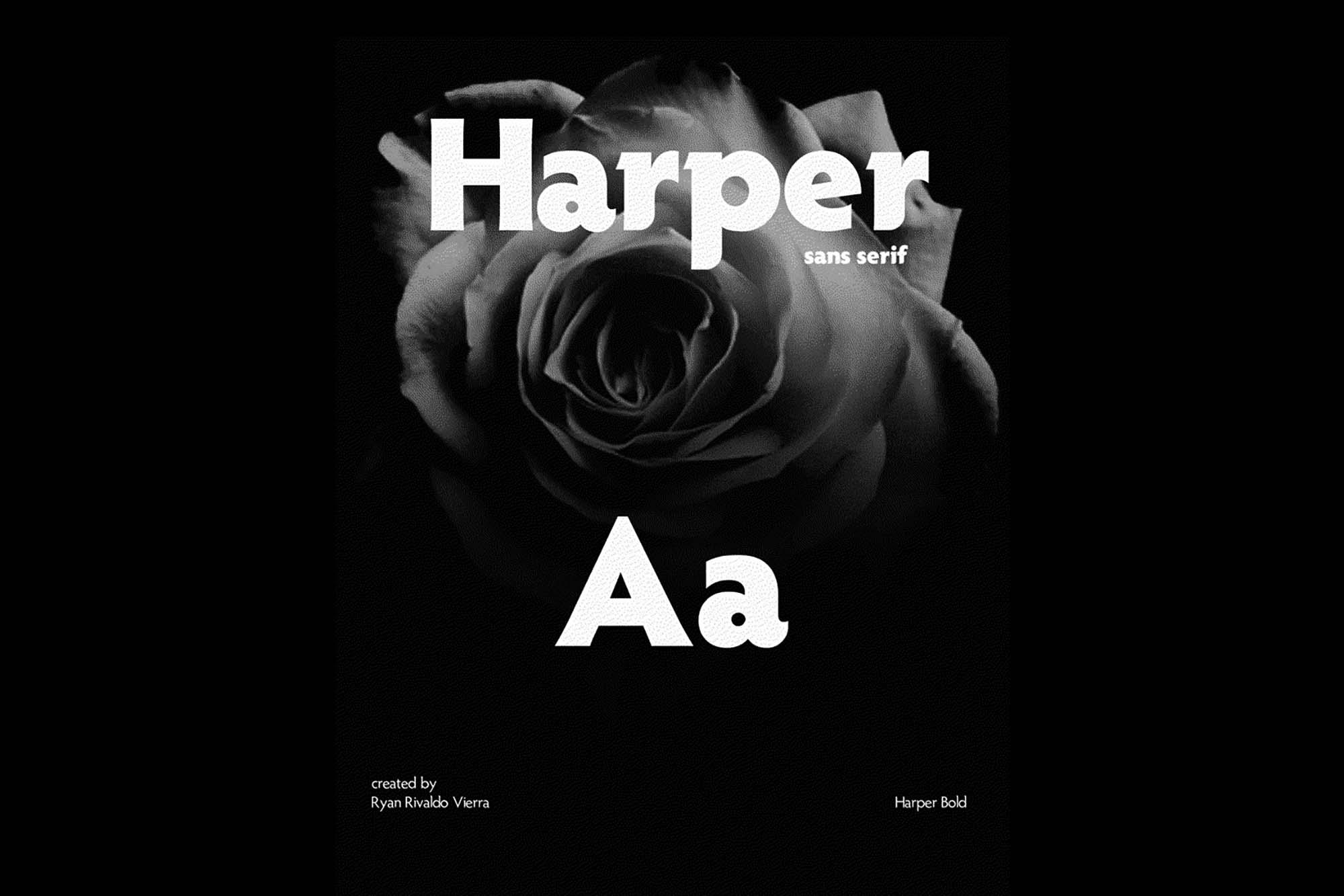 Harper Font 7
