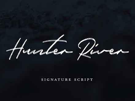 Hunter River Font