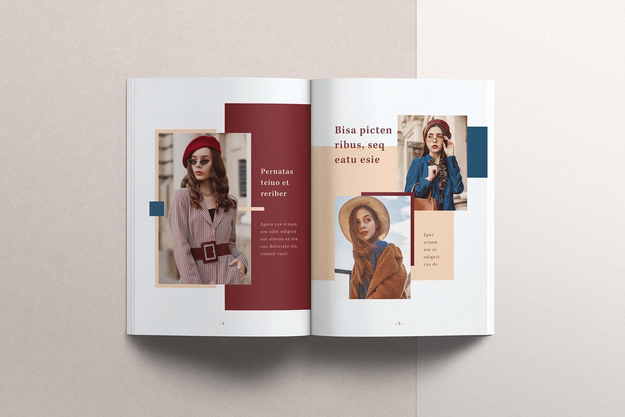 InDesign Magazine Template 2