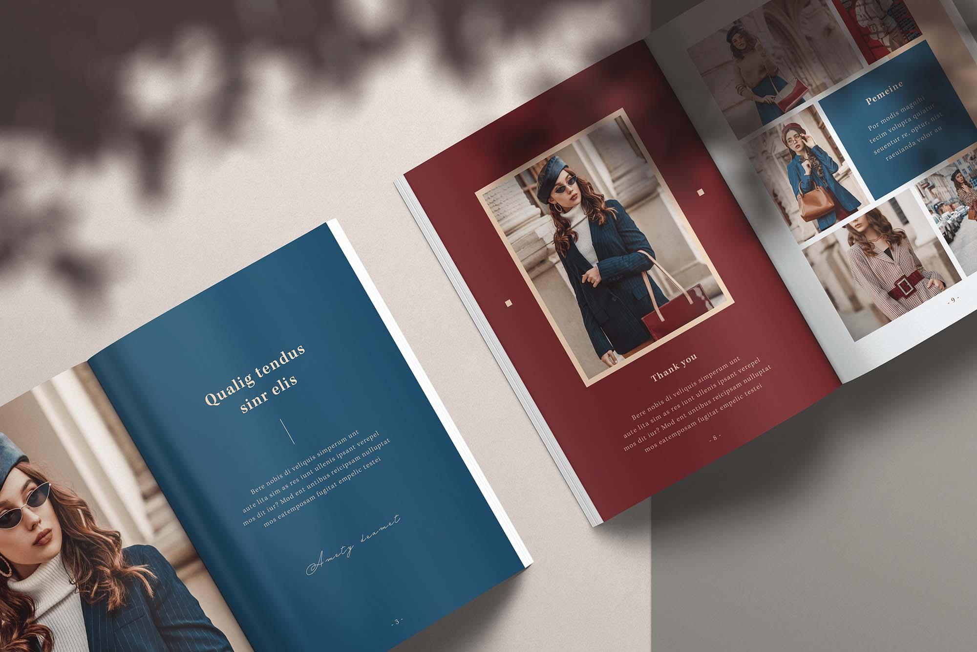 InDesign Magazine Template 3