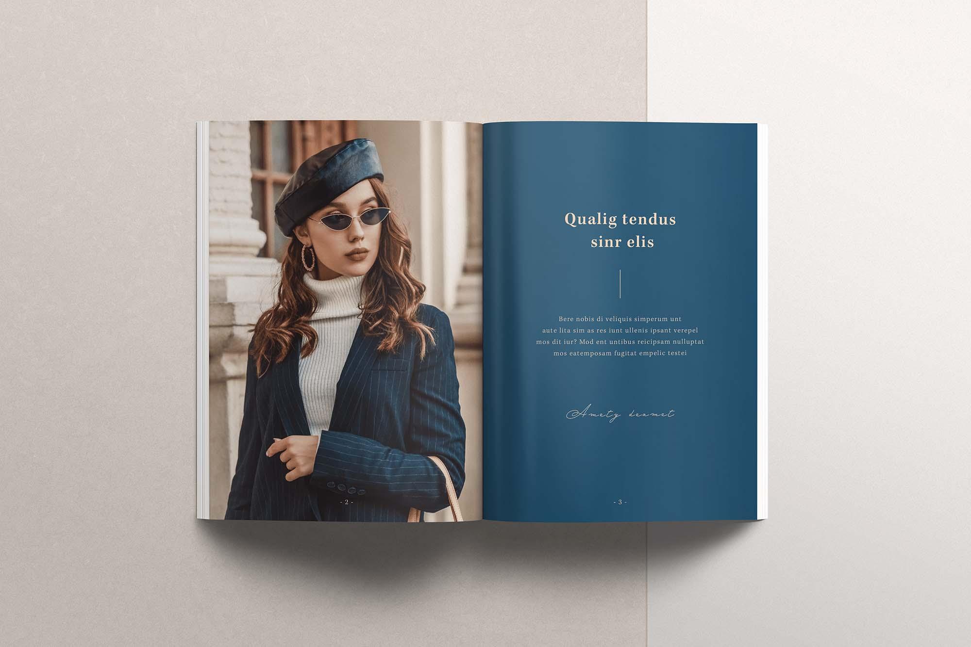 InDesign Magazine Template 6