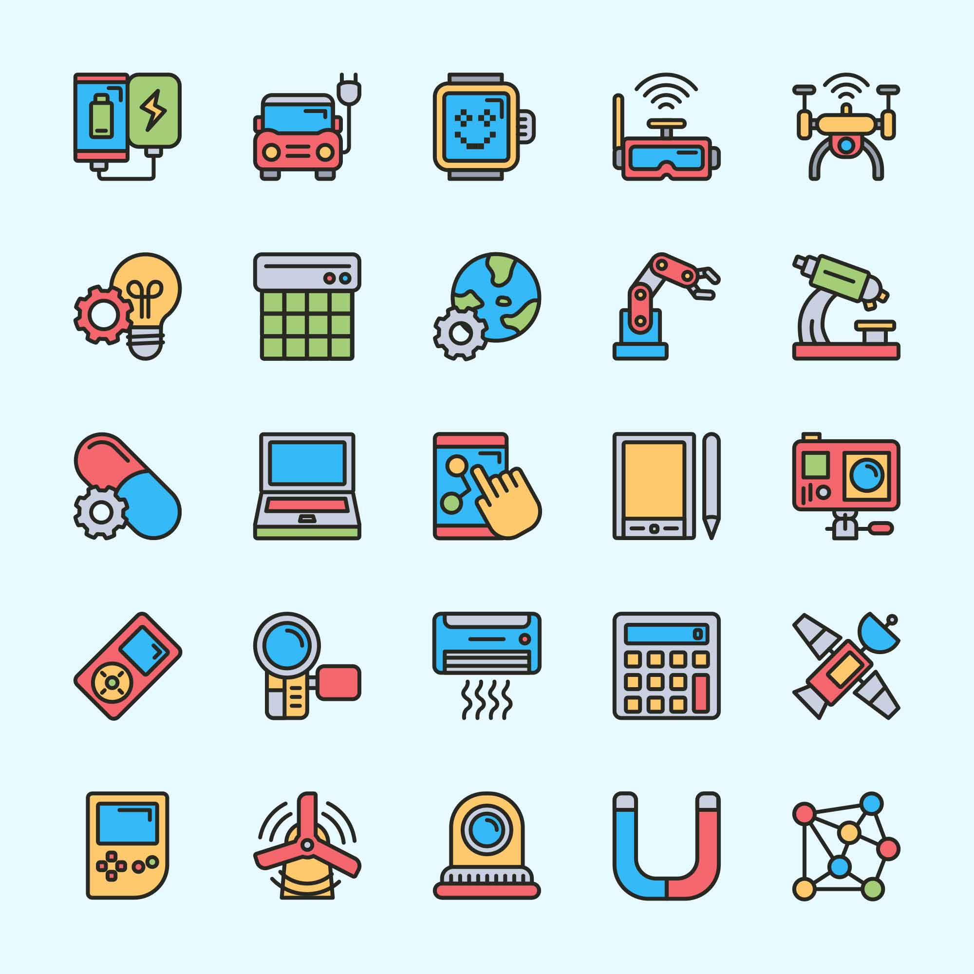 Innovation Vector Icons