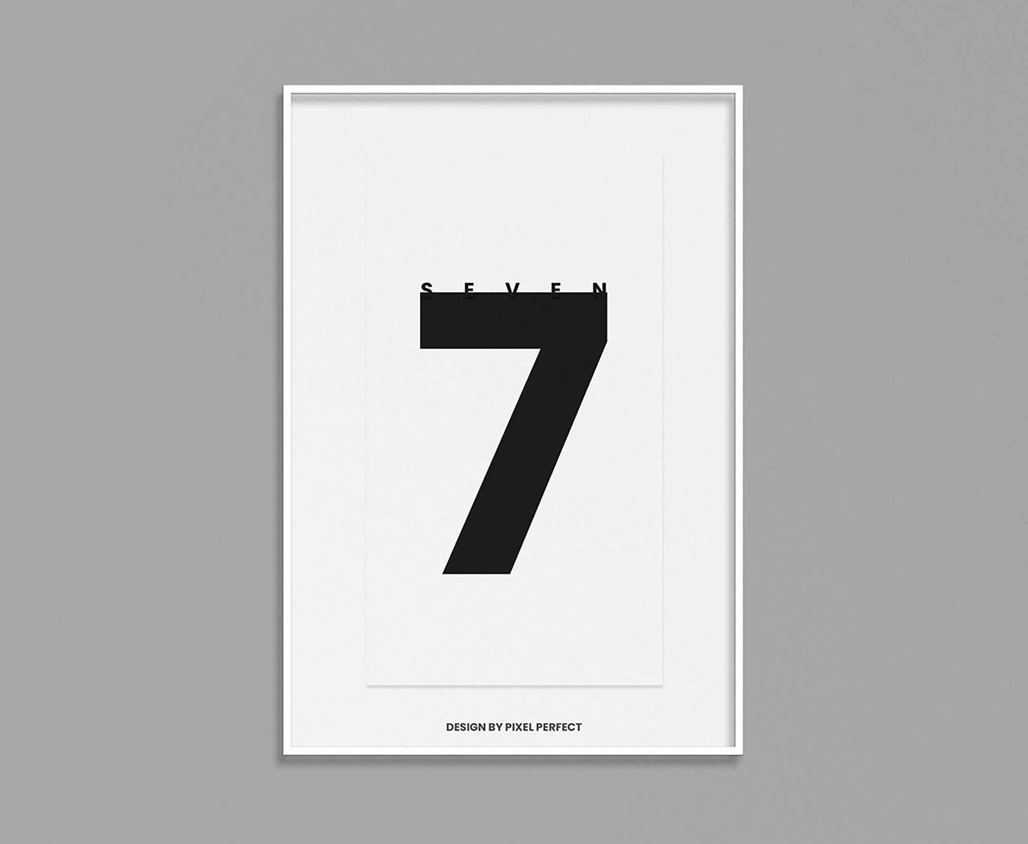 Minimalistic Poster Mockup 2
