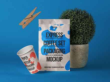 Paper Bag Mockup Showcase