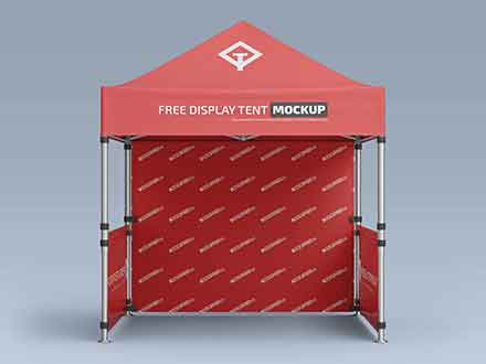 Pop-Up Canopy Tent Mockup