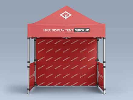 Pop-Up Canopy Tent Mockup