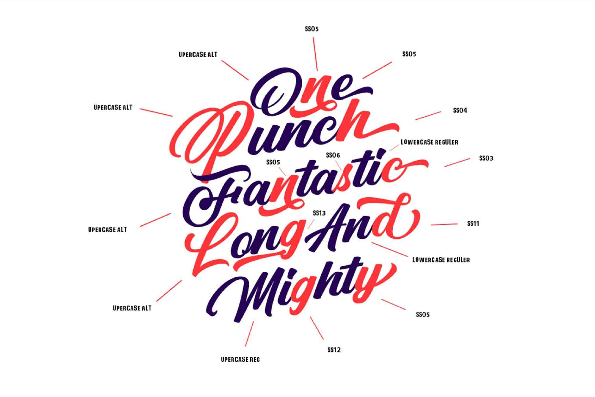 Punch Limit Script Font 2
